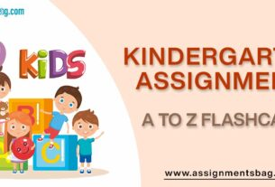 A to Z Flashcards Assignments Download PDF