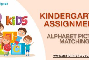Alphabet Picture Matching Assignments Download PDF