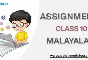 Assignments For Class 10 Malayalam
