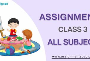 Assignments-For-Class-3-all-subject