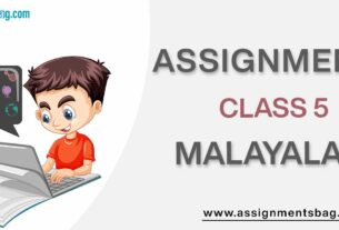 Assignments For Class 5 Malayalam