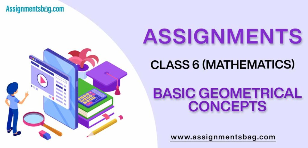 Assignments For Class 6 Mathematics Basic Geometrical Concepts