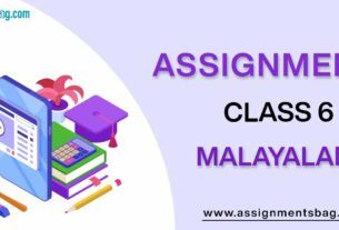Assignments For Class 6 Malayalam
