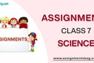 Assignments For Class 7 Science