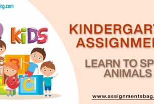 Learn To Spell Animals Assignments Download PDF