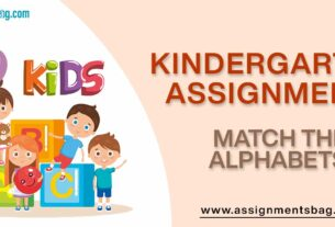 Match The Alphabets Assignments Download PDF