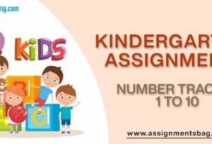 Number Tracing 1 To 10 Assignments Download PDF